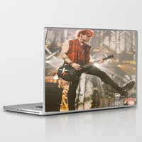 michael clifford Laptop & iPad Skins featuring Clifford Michael // Live by Fan_Girl_Designs