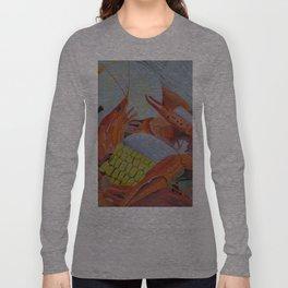 Gulf Coast Crawfish Long Sleeve T-shirt