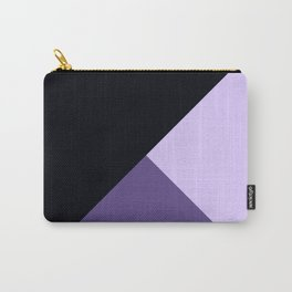 Trinity Color Block Ultra Violet Spring Summer Carry-All Pouch
