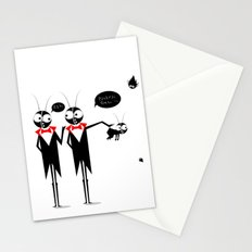 Baby Black Stationery Cards