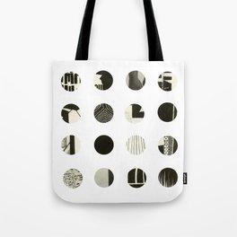 Dots Noir Tote Bag