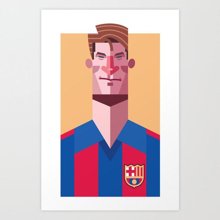 ML9   Blaugrana Art Print
