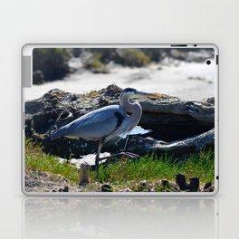 posing heron Laptop & iPad Skin