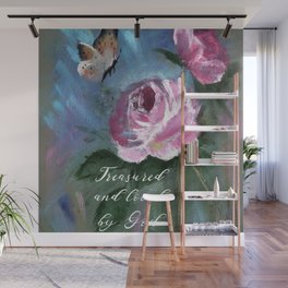 Treasured and Loved by God Wall Mural