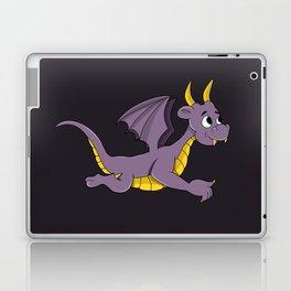 Cute purple dragon cartoon Laptop & iPad Skin