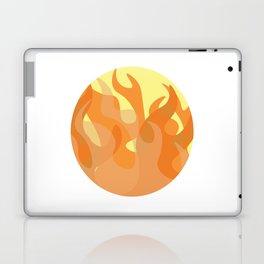 Pastel Flames Laptop & iPad Skin