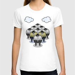 TWO GATHER WITH CLOUDS T-shirt