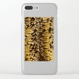 Nature´s Abstract Clear iPhone Case