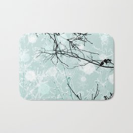 Winter Branches - Graphic Bath Mat