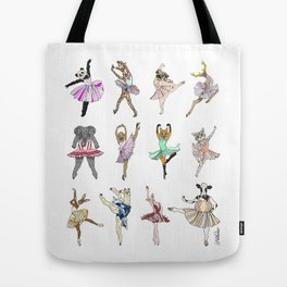 Animal Ballet Hipsters LV Tote Bag