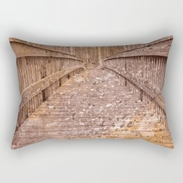 Acrylic Sepia Bridge Rectangular Pillow