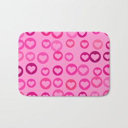 Love Hearts Bath Mat