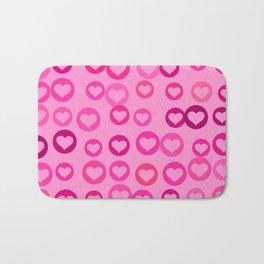 Love Hearts Bath Mat