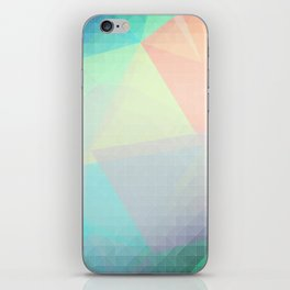 Pastel Candy Geometry iPhone Skin