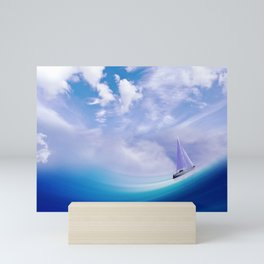 Ship At Sea Mini Art Print