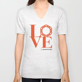 Love Saatchi Art Unisex V-Neck