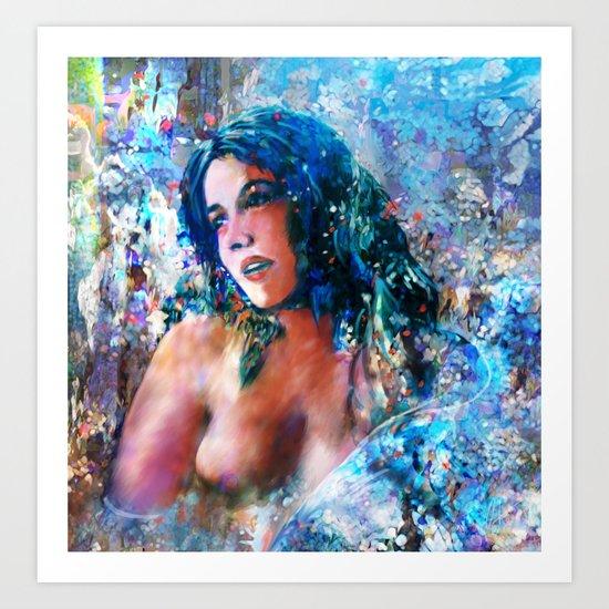 Sarah-Jane Art Print