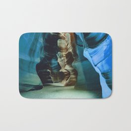 BLUE ANTELOPE CANYON ROAD TRIP Bath Mat