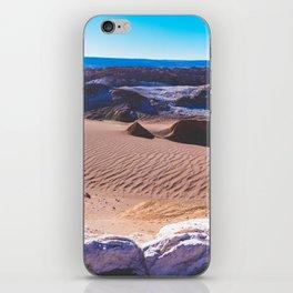 Valle de la Luna (Moon Valley) in San Pedro de Atacama, Chile iPhone Skin
