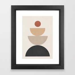 Geometric Modern Art 31 Framed Art Print