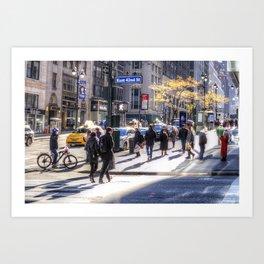 East 42nd Street Art Print