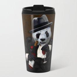 PANDA with Tuxedo iPhone 4 4s 5 5c 6 7, pillow case, mugs and tshirt Travel Mug