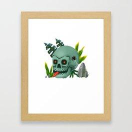 Mictlan nature Framed Art Print