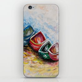 In from the Sea iPhone Skin