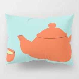 Tea invitation Pillow Sham