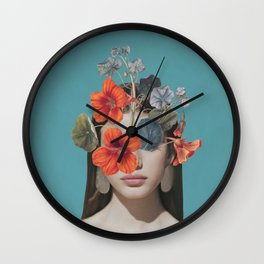 Hidden Beauty 3 Wall Clock