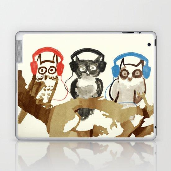 Forest Beats Laptop & iPad Skin