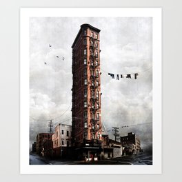 Highrise #1 Art Print