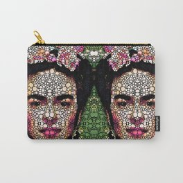 Frida Kahlo Art - Define Beauty Carry-All Pouch