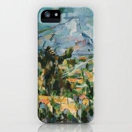 Mont Sainte Kaiju iPhone Case