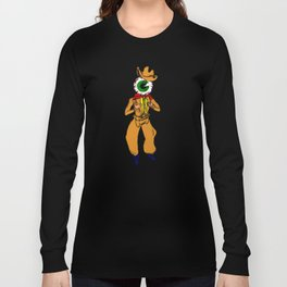 Eyeball Cowboy Long Sleeve T-shirt