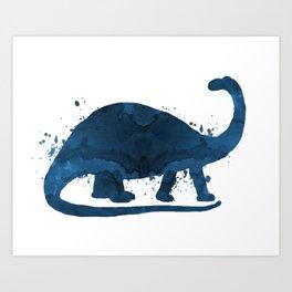 Brontosaurus Art Print