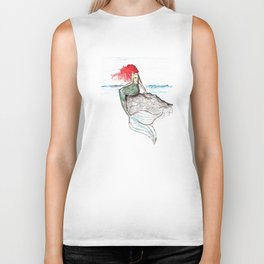 The Little Mermaid Biker Tank