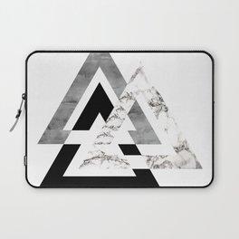 Marble Geometric Laptop Sleeve
