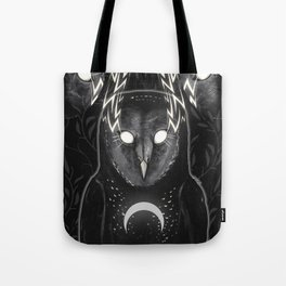 Don't Go In The Woods Tote Bag