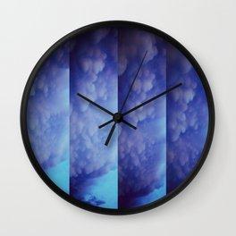 Mammatus Clouds Wall Clock