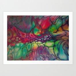 Fluid Color Art Print