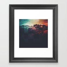 Fractions A80 Framed Art Print
