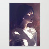 ultraviolence Canvas Prints featuring ULTRAVIOLENCE by aprilsarts