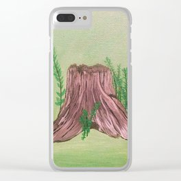 The Stump Clear iPhone Case