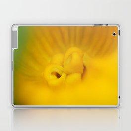 Zucchini Flower Laptop & iPad Skin