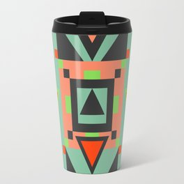 Bright Geometric Travel Mug