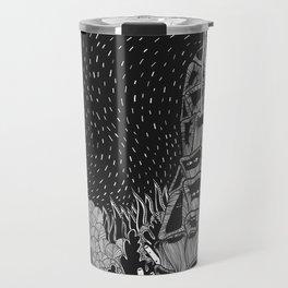 Botanical Doodle 2/3 Travel Mug