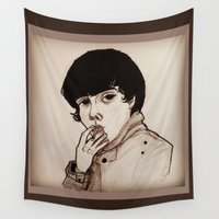 jake Wall Tapestries featuring Jake by Julio César