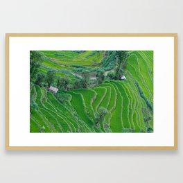 Landscape in Yunnan, China Framed Art Print