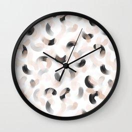 La gouache neutral Wall Clock